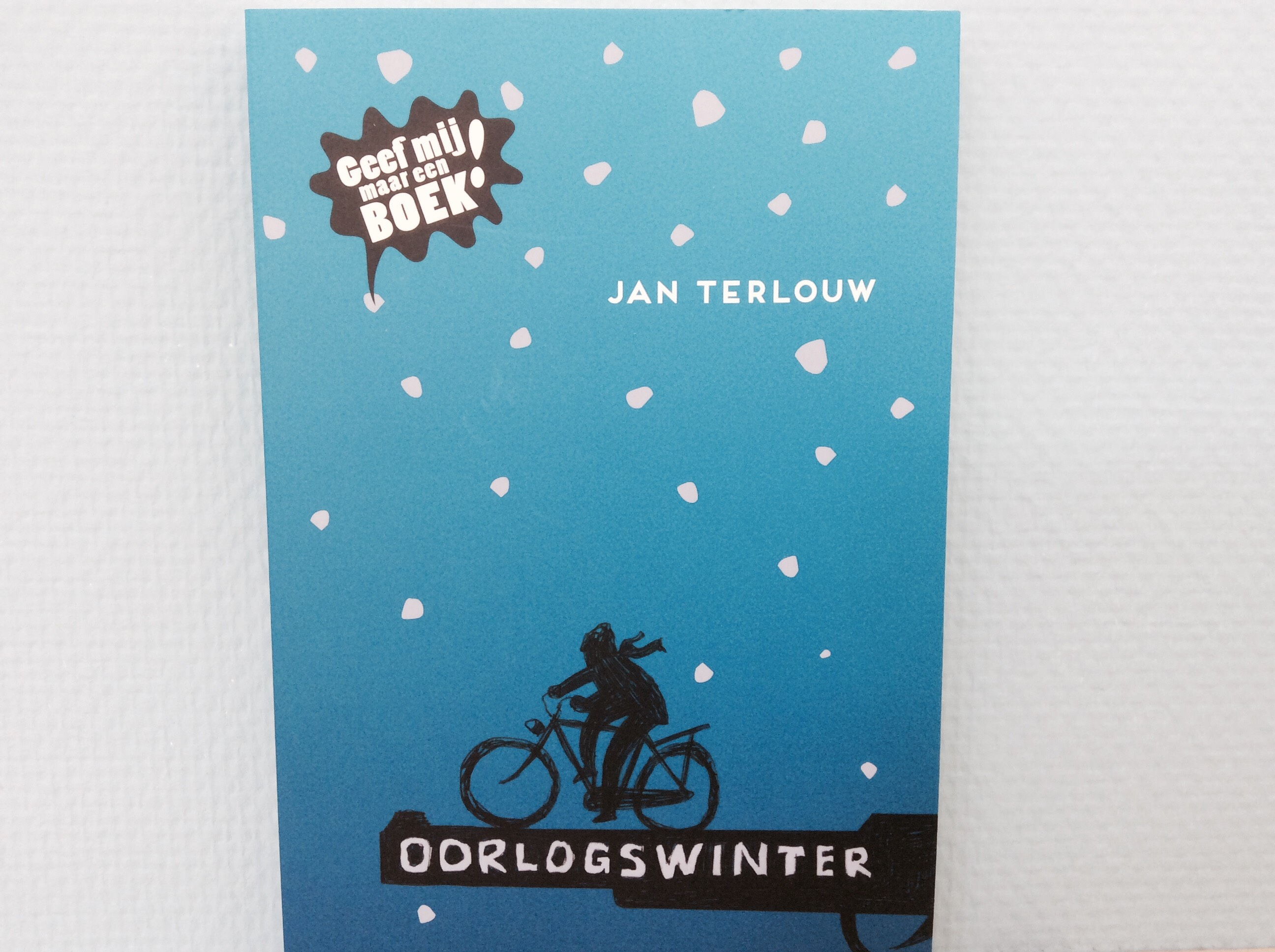 Oorlogswinter Jan Terlouw by Book Barista